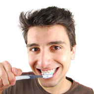 tanden poetsen